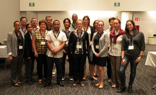 CaribVET members and partners attending ISVEE 14th